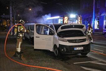 Politisches Motiv für Autobrand in Dresden?