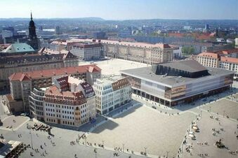 Flachdach-Zank am Neumarkt