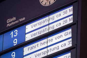 Ist der Zug zum Flug zu spät, ist das Pech