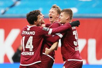 Dynamo demonstriert neue Stärke im Ostklassiker