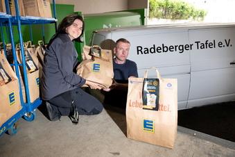 Radeberger Tafel hilft hunderten Bedürftigen