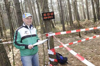 Deutsche Orientierungsläufer im Anmarsch