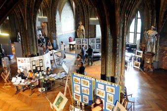 Grafikmarkt auf der Albrechtsburg findet statt
