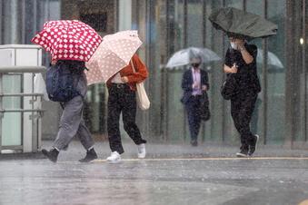 Wetterdienst warnt vor schweren Sturmböen in Mittelsachsen