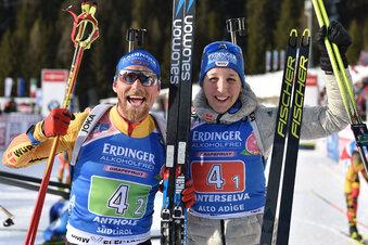 Silber für den Ersatzmann bei Biathlon-WM