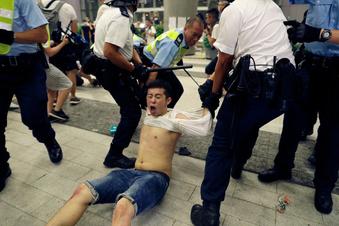 Aufruhr in Hongkong