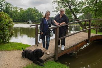 Fürs Arbeiten aus Dresden in den Park Zabeltitz