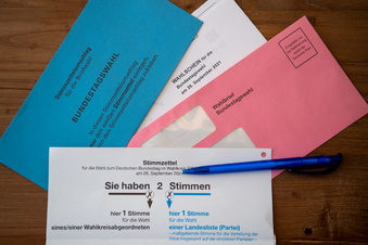 So viele Briefwähler wie noch nie in Sachsen