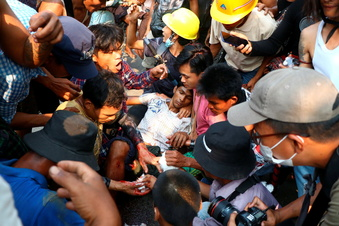 Tod und Leid ohne Ende in Myanmar