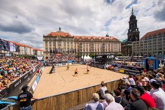 Kein Beach-Turnier auf Dresdner Altmarkt
