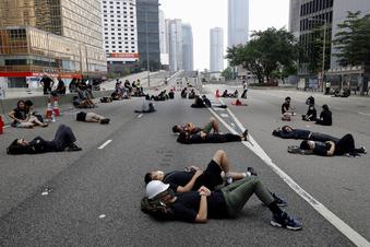 Protest in Hongkong geht weiter