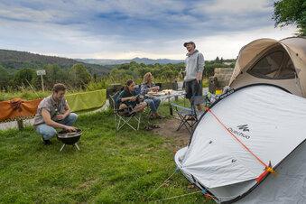 Campen wird immer komfortabler