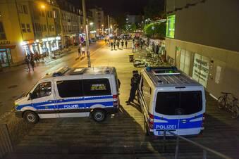 Weniger Straftaten in Dresden erfasst