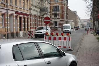 Döbelner Schillerstraße gesperrt