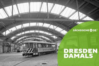 Ein großartiger Bau für Dresdens Straßenbahn