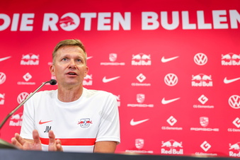 Der neue RB-Trainer will auch die Bayern schlagen