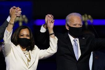 Biden und Harris sind Personen des Jahres