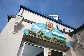 Gaststätte im Tower geschlossen