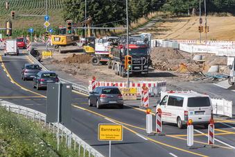 Busse werden wegen Straßenbau umgeleitet