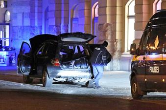 Granaten in Auto am Hauptbahnhof entdeckt
