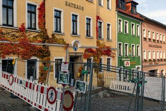 Stolpens Rathaus wird barrierefrei