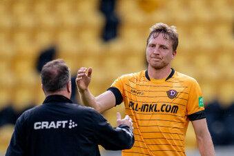 Dynamo: Hartmann trainiert mit dem Team