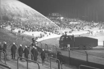 Die Eskalation bei Dynamos letztem Europacup-Spiel