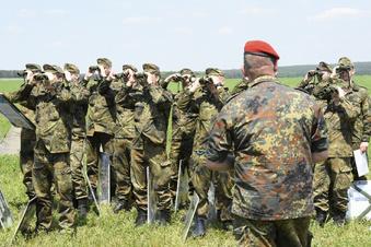 Bundeswehr trainiert auf den Dörfern