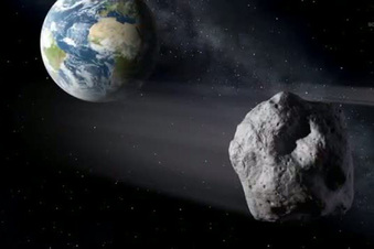 Großer Asteroid fliegt an der Erde vorbei
