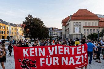 Bautzener demonstrieren gegen Rechtsextremismus