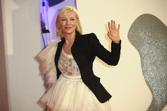 Cate Blanchett von Dresden beeindruckt