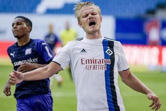 HSV hilft Dynamo nicht - Bielefeld ist durch