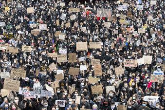 Zehntausende bei Demos gegen Rassismus