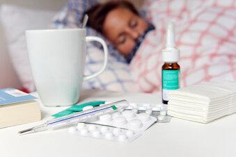 Deutlich weniger Grippe und andere Infektionen