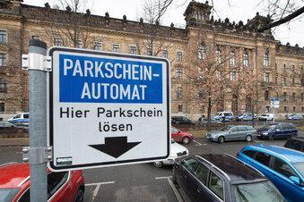 Streit um Dresdner Parkgebühren