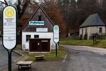 Hohnsteins Busplatz wird umgebaut