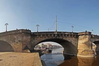 Dank Fluthilfe: Augustusbrücke wird bald saniert