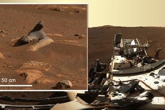 Nasa-Rover macht Panorama-Bild vom Mars