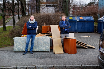 Dresden: Wo kommt der Sperrmüll her?