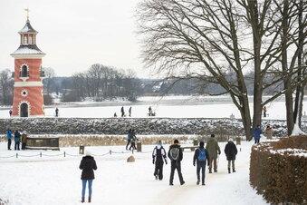 Winterzauber am Schloss Moritzburg