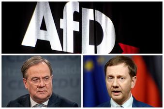 Laschet und Kretschmer: Klare Kante gegen die AfD