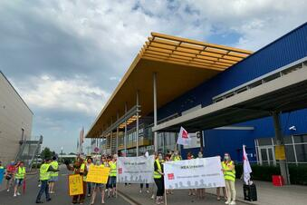 Kaufland und Ikea: Streiks in Dresden