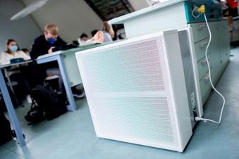 Lüften statt Filtern an Radebeuls Schulen