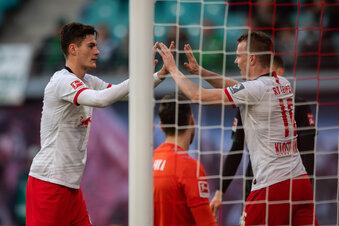 RB Leipzig ist wieder Tabellenführer
