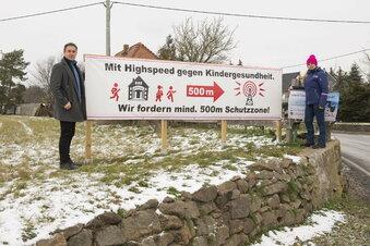 Funkmast-Gegner schreiben Merkel an