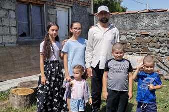 Wie es der georgischen Familie aus Meißen geht