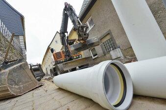 Coswiger Firma übernimmt Kanalbau