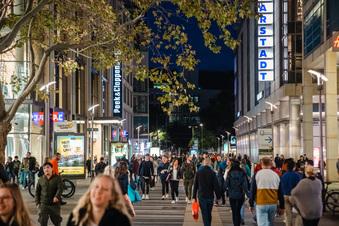 Late Night Shopping Dresden