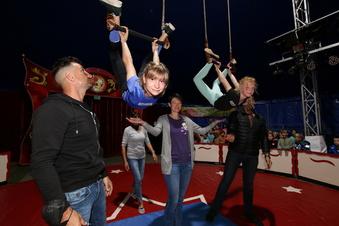 Manege frei für die jungen Akrobaten