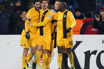 Dynamo Dresden rettet einen Punkt
